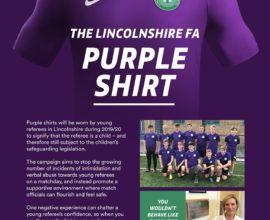 FA Purple Shirt Campaign